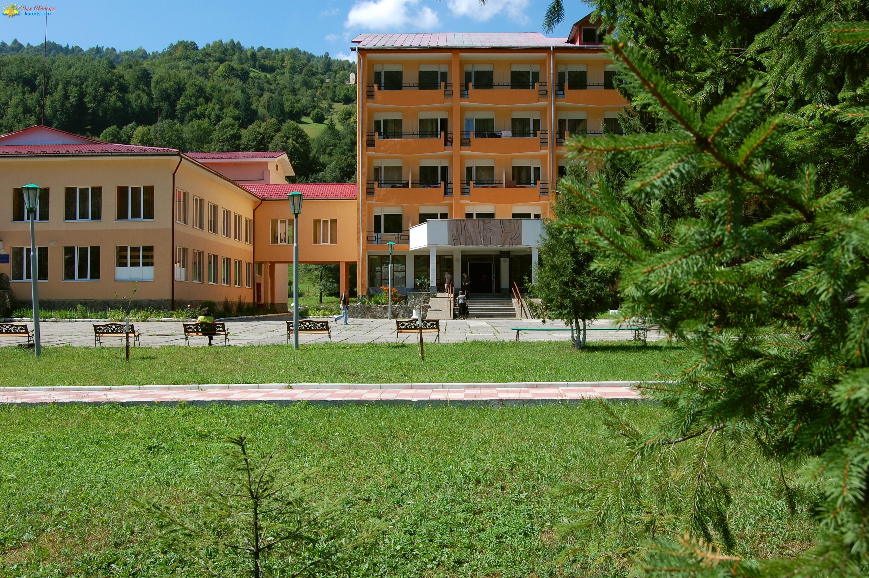 Корпус санатория