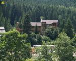 Вид с горы на отель