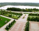 Вид с балкона санатория Жемчужина Прикарпатья
