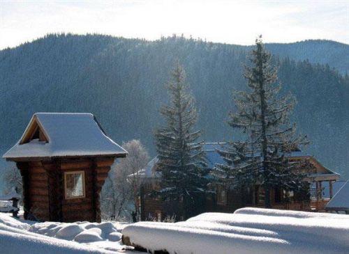 Татаров зимой