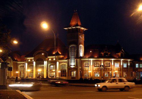 Ужгородский вокзал