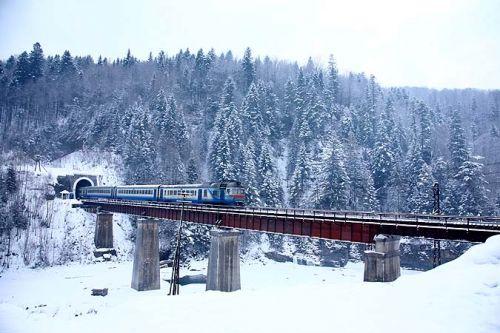 Яремча мост
